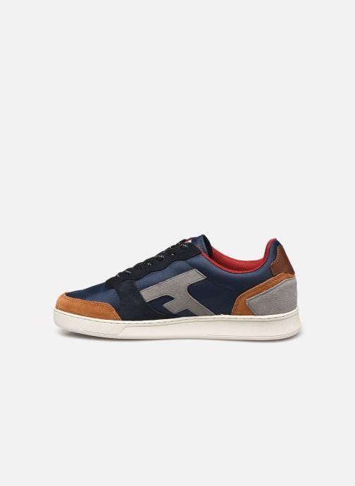 Sneaker Faguo Baskets Hazel Syn Woven Suede blau ansicht von vorne