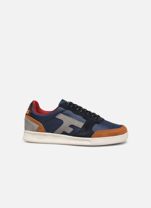 Sneaker Faguo Baskets Hazel Syn Woven Suede blau ansicht von hinten
