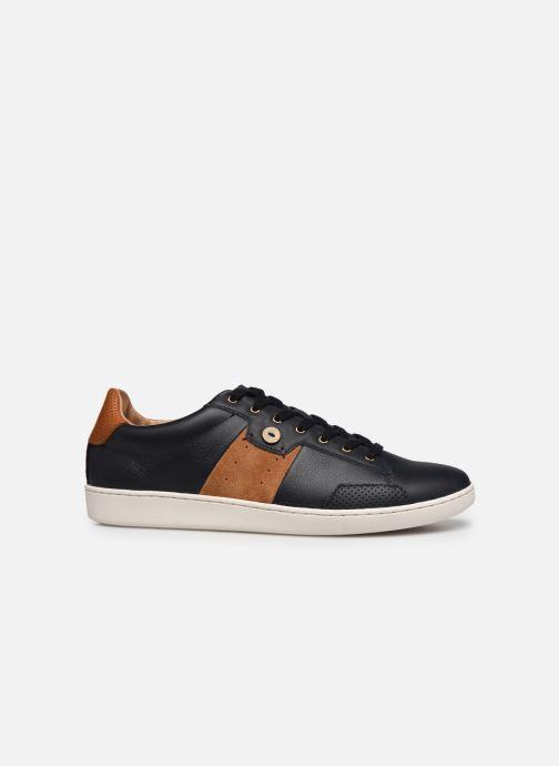 Baskets Faguo Tennis Hosta Leather Suede v Noir vue derrière