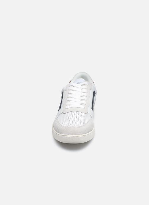 Baskets Faguo Baskets Hazel Leather Blanc vue portées chaussures