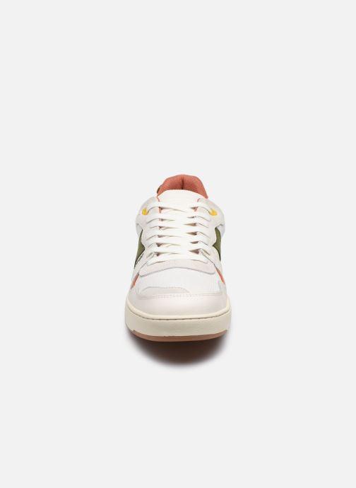 Sneakers Faguo Baskets Ceiba Syn Wov Leather Wit model