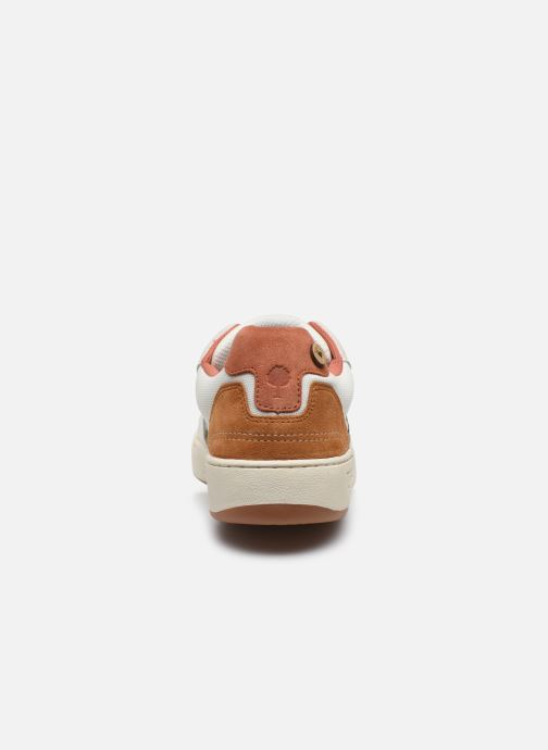 Sneakers Faguo Baskets Ceiba Syn Wov Leather Wit rechts
