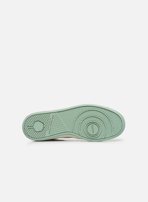 Sneaker Faguo Baskets Ceiba Leather Suede weiß ansicht von oben