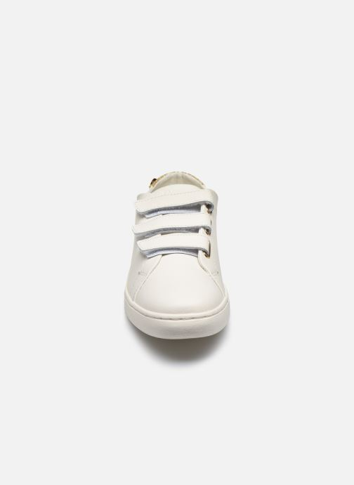 Baskets Faguo Tennis Aspenlows Leather Blanc vue portées chaussures