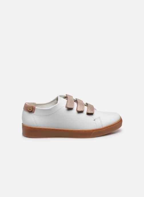 Baskets Faguo Tennis Aspenlows Leather Blanc vue derrière