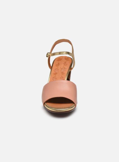 Sandali e scarpe aperte Chie Mihara Ba-Parigi 36 Rosa modello indossato