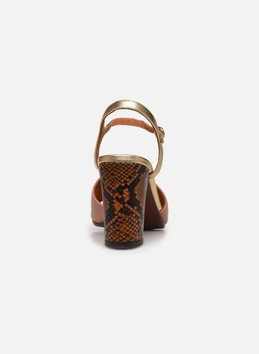 Sandali e scarpe aperte Chie Mihara Ba-Parigi 36 Rosa immagine destra