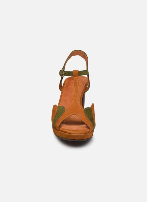 Sandali e scarpe aperte Chie Mihara NUMBA C Marrone modello indossato
