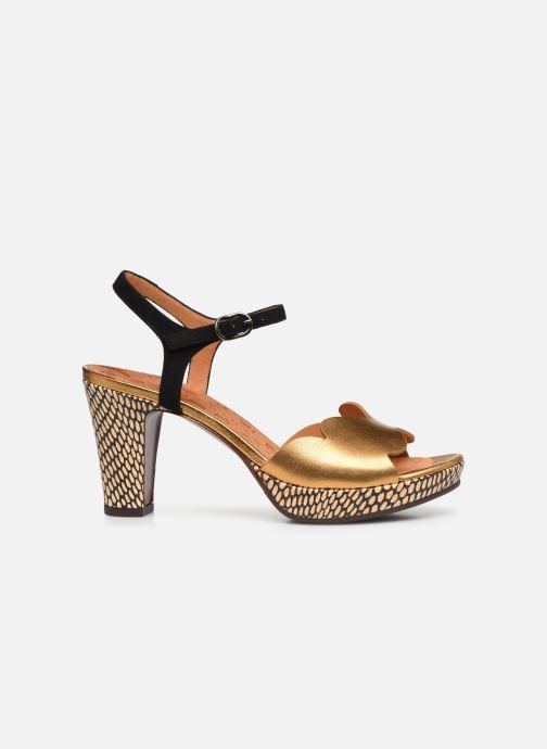 Sandales et nu-pieds Chie Mihara EDELIRA Or et bronze vue derrière