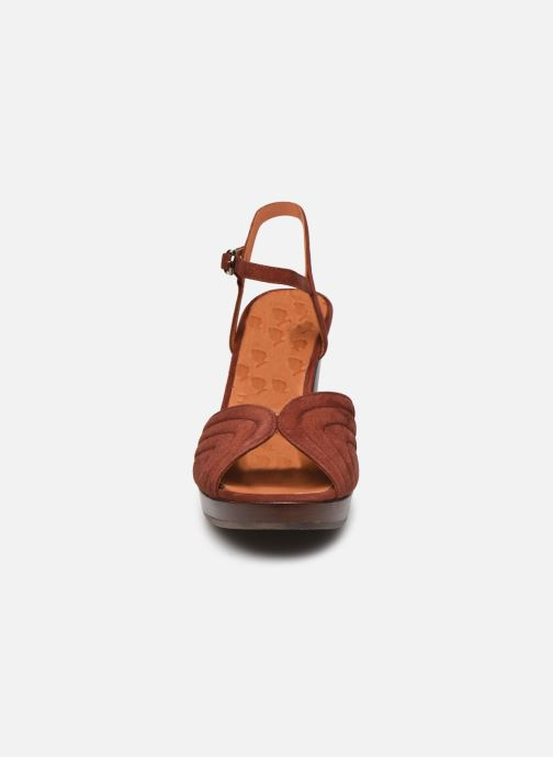 Sandalen Chie Mihara ERIS T braun schuhe getragen