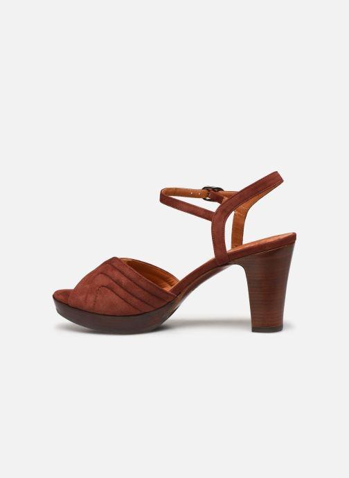 Sandalen Chie Mihara ERIS T braun ansicht von vorne