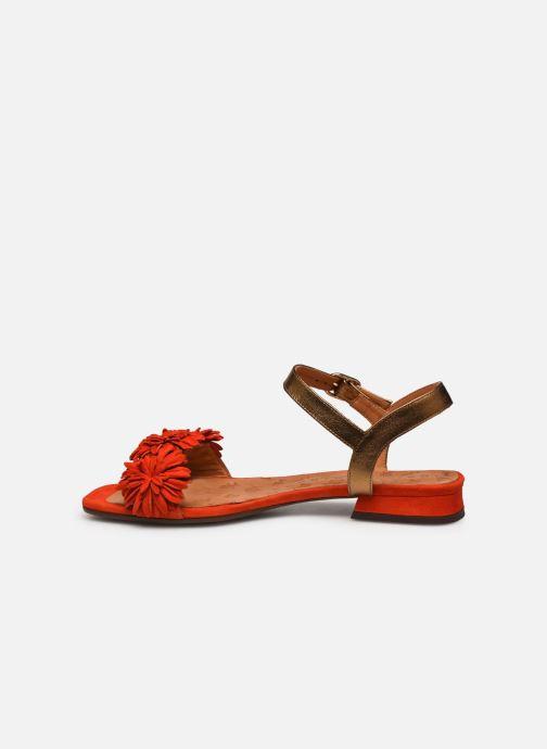 Sandales et nu-pieds Chie Mihara TALICO Orange vue face