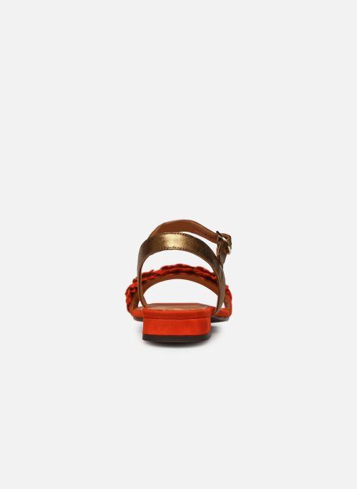 Sandales et nu-pieds Chie Mihara TALICO Orange vue droite