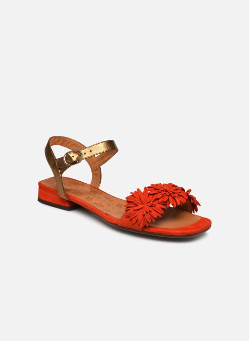 Sandales et nu-pieds Chie Mihara TALICO Orange vue détail/paire