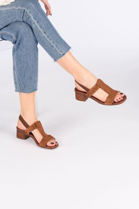Sandali e scarpe aperte Chie Mihara QUOM Marrone immagine dal basso