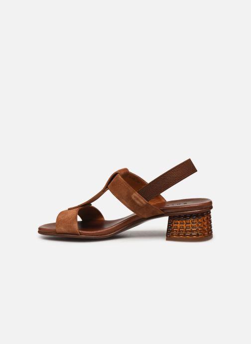 Sandali e scarpe aperte Chie Mihara QUOM Marrone immagine frontale