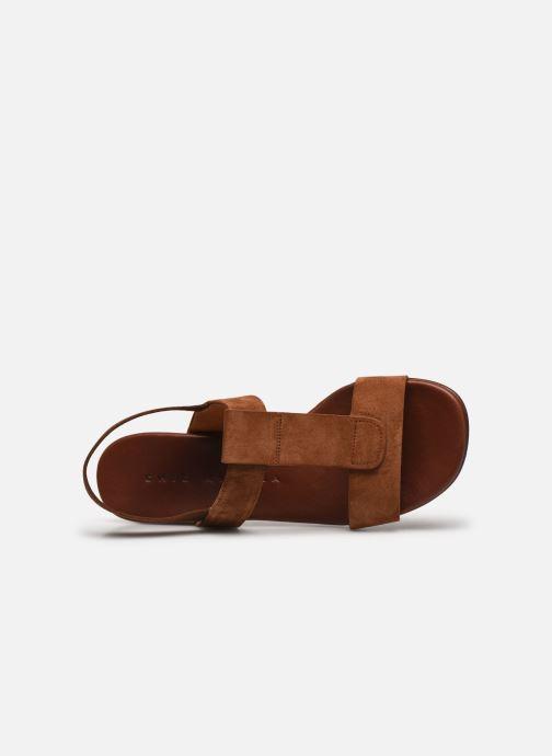 Sandali e scarpe aperte Chie Mihara QUOM Marrone immagine sinistra