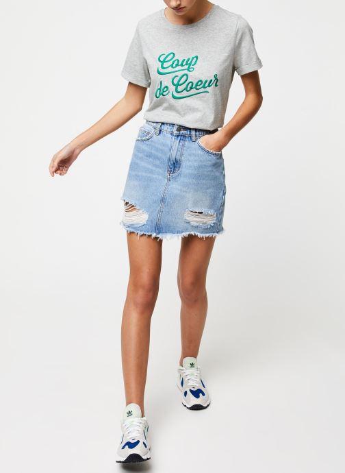 Vêtements Suncoo T-SHIRT MYLANN Gris vue bas / vue portée sac