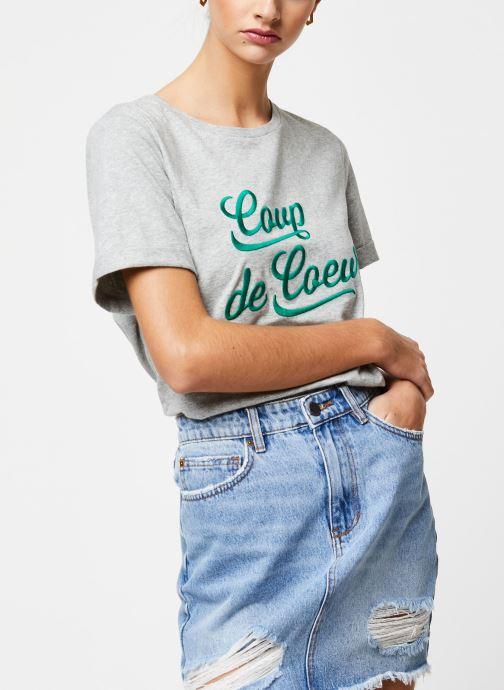 Vêtements Suncoo T-SHIRT MYLANN Gris vue détail/paire