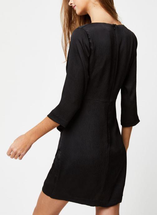 Vêtements Suncoo ROBE CYBIL Noir vue portées chaussures