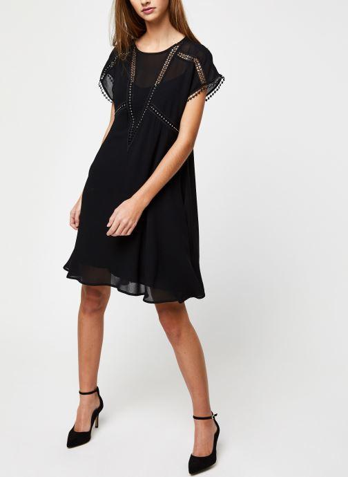 Vêtements Suncoo ROBE CARMINA Noir vue bas / vue portée sac
