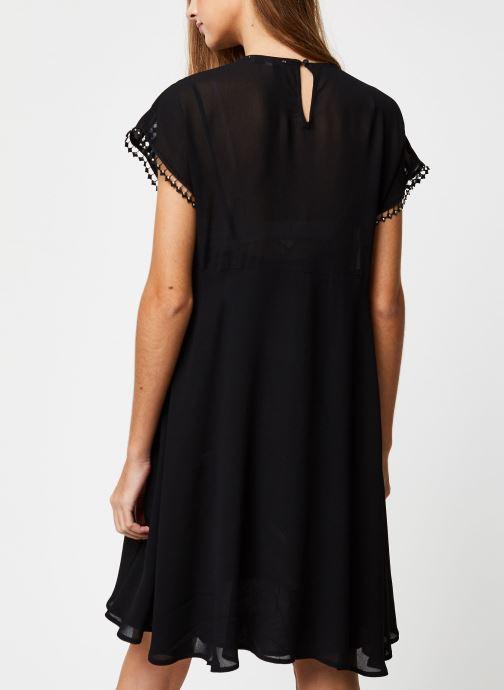 Vêtements Suncoo ROBE CARMINA Noir vue portées chaussures