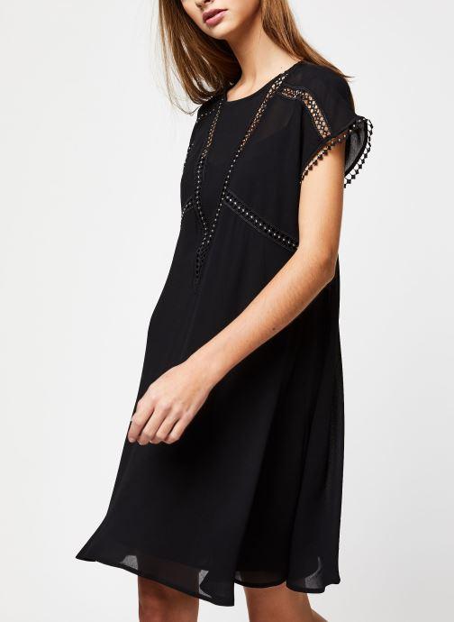 Vêtements Suncoo ROBE CARMINA Noir vue droite