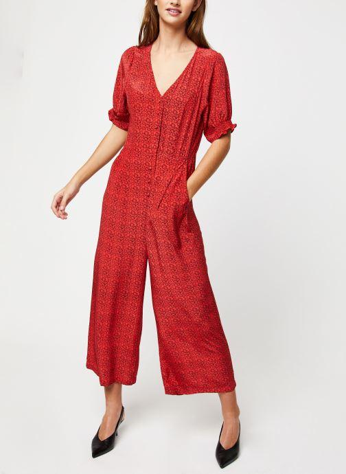 Vêtements Suncoo COMBI-PANTALON TONY Rouge vue bas / vue portée sac