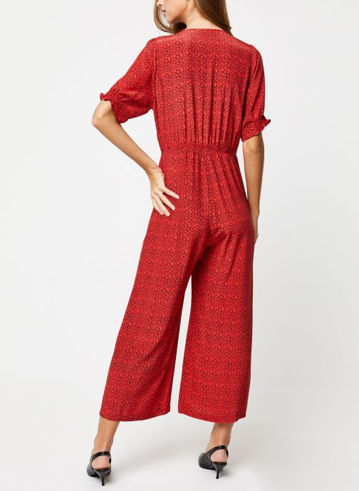 Vêtements Suncoo COMBI-PANTALON TONY Rouge vue portées chaussures