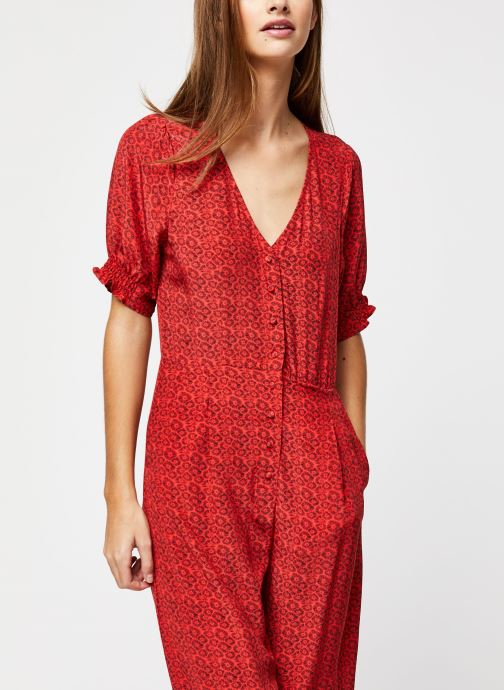 Vêtements Suncoo COMBI-PANTALON TONY Rouge vue droite