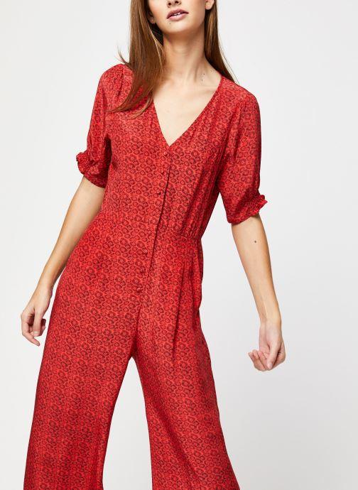 Vêtements Suncoo COMBI-PANTALON TONY Rouge vue détail/paire