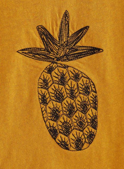 Vêtements Sproet & Sprout T-shirt Pineapple Jaune vue portées chaussures