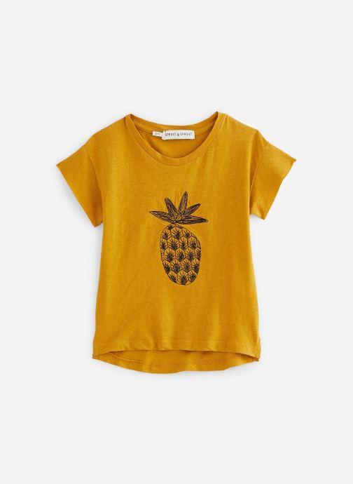 Vêtements Sproet & Sprout T-shirt Pineapple Jaune vue détail/paire