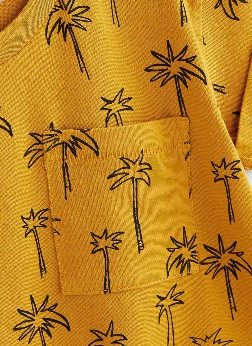 Vêtements Sproet & Sprout T-shirt print Palm Tree Jaune vue portées chaussures