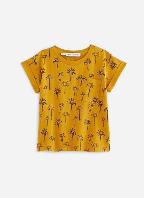 Vêtements Sproet & Sprout T-shirt print Palm Tree Jaune vue détail/paire