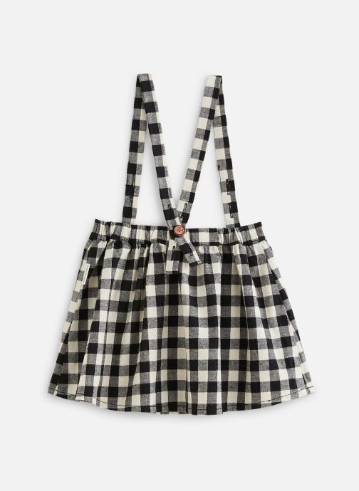 Vêtements Sproet & Sprout Jupe suspenders Block Check Noir vue bas / vue portée sac
