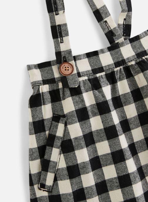 Vêtements Sproet & Sprout Jupe suspenders Block Check Noir vue portées chaussures