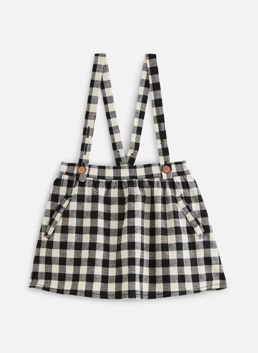 Vêtements Sproet & Sprout Jupe suspenders Block Check Noir vue détail/paire