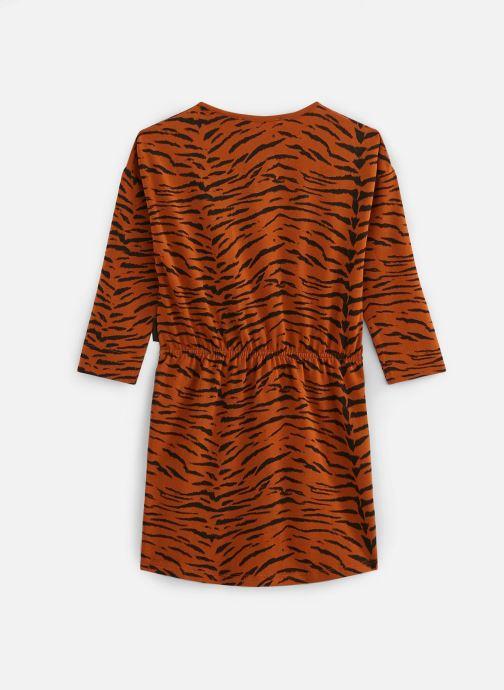 Vêtements Sproet & Sprout Robe print Tiger Basic Marron vue bas / vue portée sac
