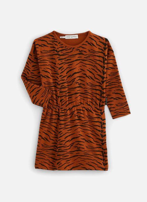 Vêtements Sproet & Sprout Robe print Tiger Basic Marron vue détail/paire