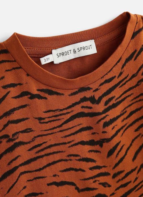 Vêtements Sproet & Sprout T-shirt print Tiger Basic Marron vue portées chaussures