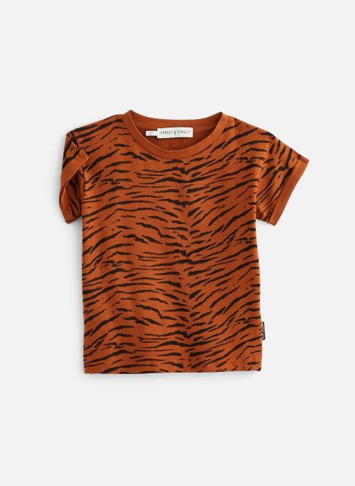 Vêtements Sproet & Sprout T-shirt print Tiger Basic Marron vue détail/paire