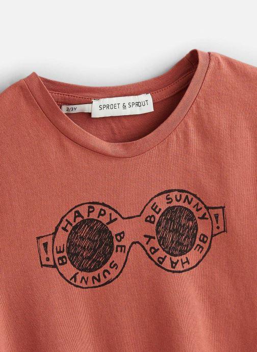 Vêtements Sproet & Sprout T-shirt Happy Shades Marron vue portées chaussures