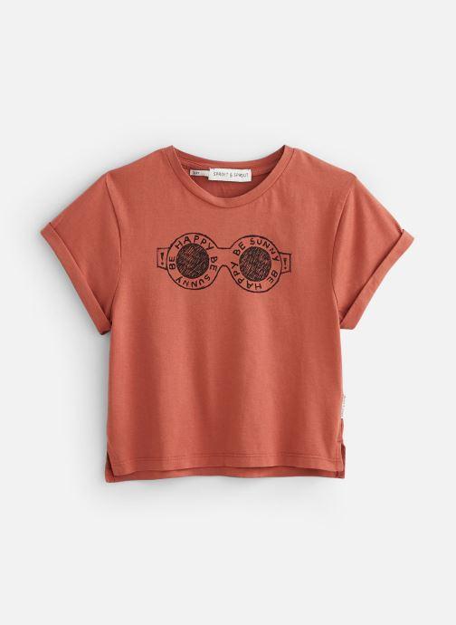 Vêtements Sproet & Sprout T-shirt Happy Shades Marron vue détail/paire