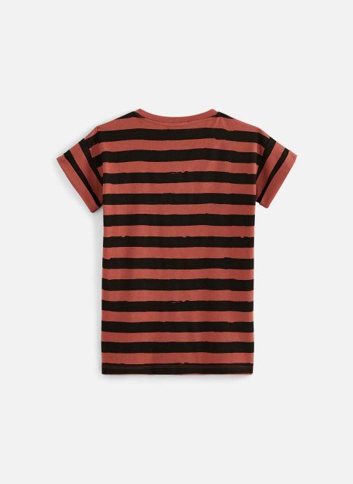 Vêtements Sproet & Sprout T-shirt dress Painted Stripe Marron vue bas / vue portée sac