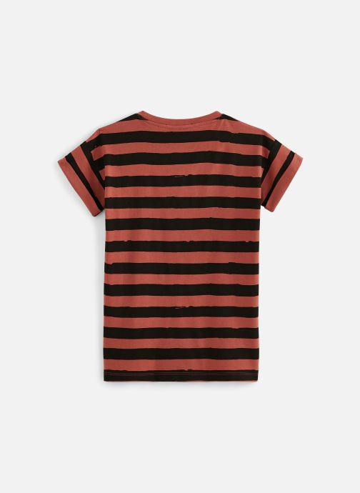 Vêtements Sproet & Sprout T-shirt dress Painted Stripe Marron vue bas / vue portée sac