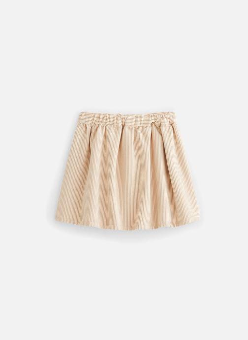 Vêtements Sproet & Sprout Jupe Pinstripe Beige vue bas / vue portée sac