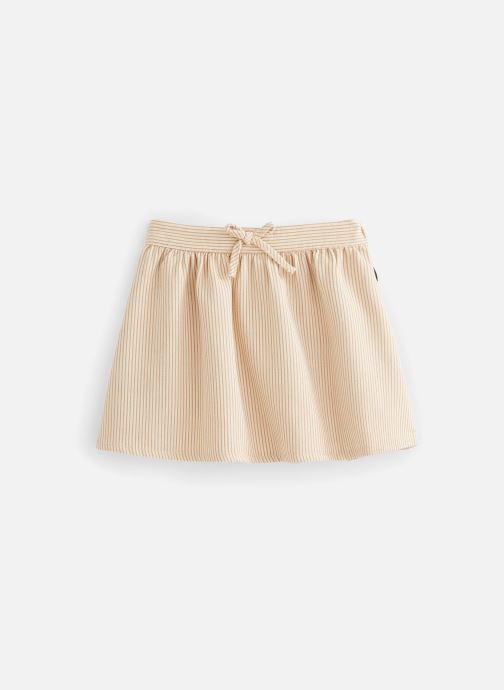 Vêtements Sproet & Sprout Jupe Pinstripe Beige vue détail/paire