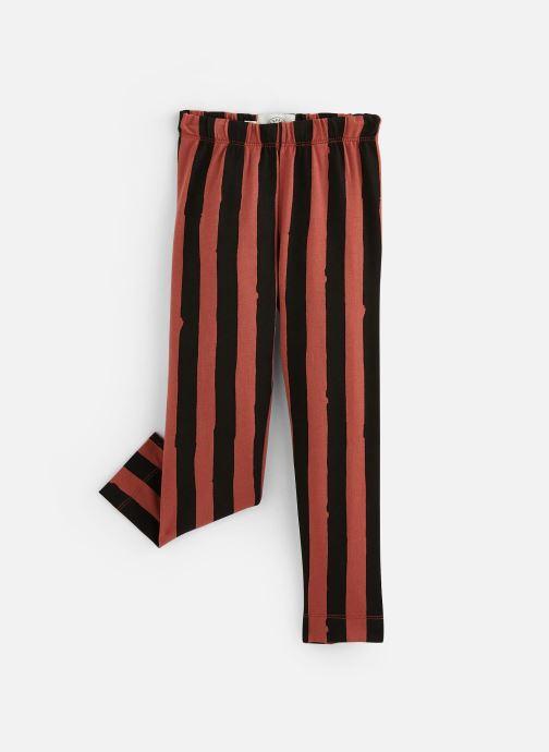 Vêtements Sproet & Sprout Legging Painted Stripe Marron vue détail/paire