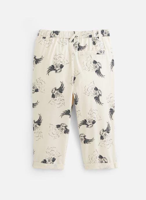 Vêtements Sproet & Sprout Pantalon print Cockatoo Blanc vue bas / vue portée sac